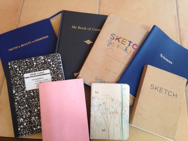 graces notebooks